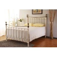 China Most Popular Europe Stylish Bedroom Furniture Antique Metal Beds
