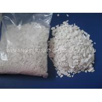 China Ph Value 8-10 Calcium Chloride Flakes , Cacl2 Salt Ice Melt For Highway on sale