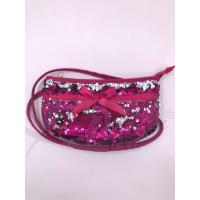Quality Sequin Shoulder Bag,Crossbody Bag with Zipper Pockets,Two-sided sequin bag for sale