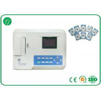 China 12 Lead Single Channel Ecg Machine / Ecg Portable Monitor With 0.05Hz~150Hz Frequency on sale