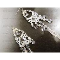 Quality Fashion Crystal Pendant Earrings Design for Women for sale