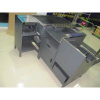 Quality Multifunctional Retail Check Out Counters Cash Counter Table With Belt for sale