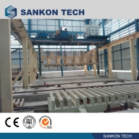 Quality Autoclaved Aerated Concrete Block Production Machinery in Turkey- Billet Shearing AAC Block Making Machine for sale