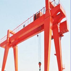 Quality Box Type Girder Gantry Crane , Ship Container Crane To Lift Material / Cargo for sale