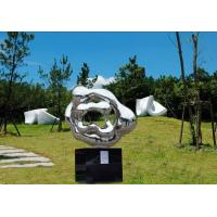 China Outdoor Abstract Stainless Steel Sculpture And Statues Garden Ornaments on sale