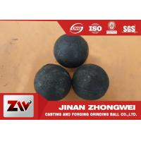 Quality Mineral Processing Forged Grinding Ball 60Mn B2 B3 45# Dia 20-150mm for sale