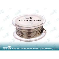 Titanium wire ASTM B863 Titanium Alloy Wire for medical and glasses