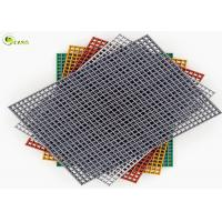 China Acidproof FRP Gutter Water Grate Floor 38mm Outdoor Drain Trench Cover on sale