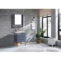 Quality Asian Style Waterproof PVC Bathroom Vanity Furniture For Hotel Room for sale