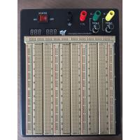 Quality 2420 Points Colored Coordinates Brown Power Supply Breadboard With Metal Case for sale