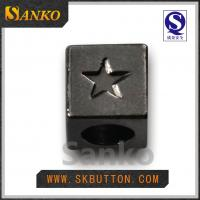 Buy High quality high colors metal stopper ending for the garment accessories at wholesale prices