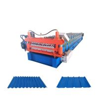 Quality Double Layer Trapzoidal Sheet Metal Roll Forming Machines Corrugated Making for sale