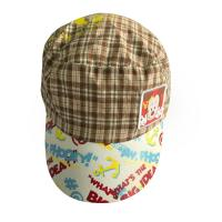 China Summer Outdoor Childrens Fitted Hats Peaked Caps For Men With Printing Word / Pattern on sale