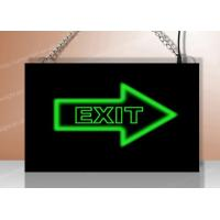 Quality Advertisement LED Resin Signs / Acrylic Sign Board Full Color Display for sale
