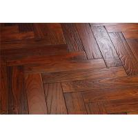China Hand scraped chinese teak wood flooring on sale