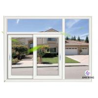 Quality White Material Aluminum Sliding Windows And Doors 1.4mm Profile Thickness for sale