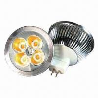 Quality 4x1W MR16 Bulb with Super-bright Epistar and Pretty Soft Light for sale