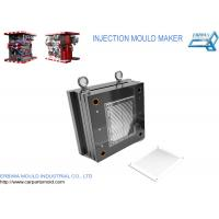Buy cheap Custom Car Interior Parts Injection Mold For White Plastic Lattice from wholesalers