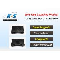 Quality Internal GPS / GSM Antenna motorbike gps tracker Built in Super Magnetic And 4000MAH Battery for sale