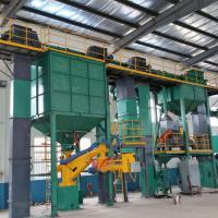 Quality Large Green Sand Moulding Machine  / Green Sand Molding Machine Reclamation Production Line for sale