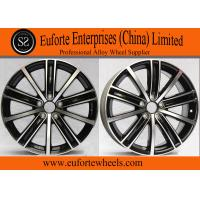 Buy cheap 18 Inch Gun Metal Machined European Wheel OEM Cap Aluminum Alloy A356.2 from Wholesalers