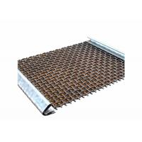 China High Carbon Steel Aggregate Screening Media With Hooks For Mining Industry on sale