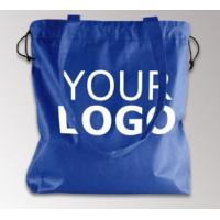China Customized Eco Friendly Non woven Reusable Laminated Non Woven Bag, Qualified Black and White Custom Printing Recyclable on sale