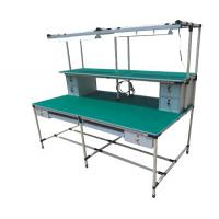 Buy Die-casting Customized Aluminium Workbench consists of Aluminum alloy pipe and at wholesale prices
