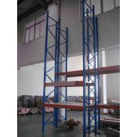 Quality Heavy Duty Warehouse Storage Racks Stocking Iron Rack With Knockdown Structure for sale
