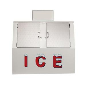 Quality Commercial Outdoor Cube Ice Merchandiser Bagged Ice Storage Bin for sale