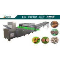 China Automatic cereal candy bar making machine / puffed rice making machine on sale