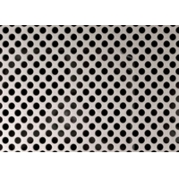 Quality SGS Micron Round Hole 16 Gauge 4x8 2mm Perforated Stainless Steel Sheet for sale