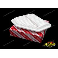 Quality 17801-31120 Auto Air Filter White For Japanese Car Camry Corolla Rav4 Venza for sale