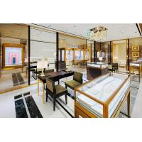 China Fashion Jewelry Kiosk Showcase for Jewellery Shop Furniture of Stainless steel display counters with Wall display case on sale