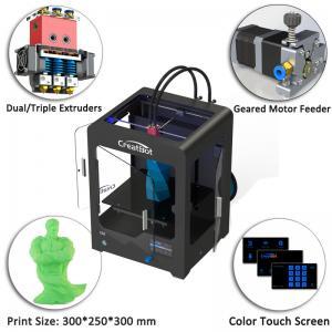 Quality Plastic Creatbot DX 3d Printer , Large Format 3d Printer 0.05 Mm Max Resolution for sale