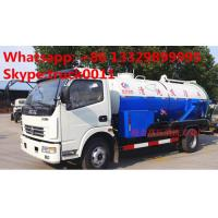 HOT SALE! best price DONGFENG 4*2 Cleaning Suction Sewage truck 6m3, dongfeng high pressure jetting sewer truck for sale