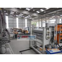 Quality 350 - 650kg/h Plastic Roof Tile Making Machine For PVC Roof Sheet for sale