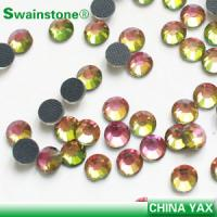 Quality jx0826 china wholesale dmc rhinestone hotfix ab;hotfix dmc ab rhinestone;dmc ab hotfix rhinestone for sale
