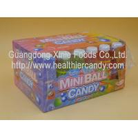 Quality Sweet Mini Ball Sprite Candy Plastic Bottle Packed Novelty Chocolate Candy for sale
