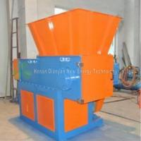 Quality Waste Recycling Plastic Lumps Shredder , Plastic Container Shredder Single Shaft for sale