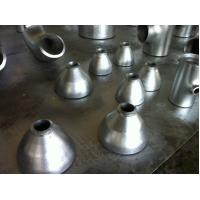 Quality Seamless carbon steel pipe reducer fittings , galvanized reducer for sale