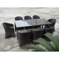 Quality 9pcs rattan sofa sets. for sale