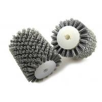 Quality Portable Industrial Polishing Brushes , Abrasive Nylon Wire Brush Roller for sale