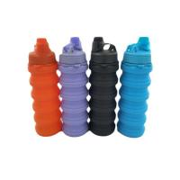 Quality Splash Collapsible Water Bottle, Travel Leakproof, 650ml, BPA Free, Foldable water bottle for sale