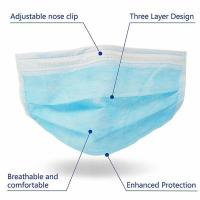 Quality Anti Virus 3 Ply Medical Face Mask Advanced Foldable Structure Techniques for sale