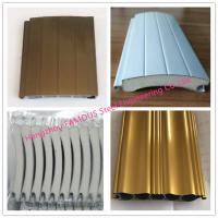 China Aluminum Insulated Electric Rolling Shutter Doors With Customized Color For Carport Use on sale