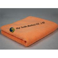 Buy Super Comfortable Absorbent Microfiber Cleaning Cloth Pink Orange at wholesale prices