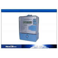 China Prepaid Electronic Energy Meter  / Watt Meter Multi-Tariff Calculation LCD with RS485 on sale
