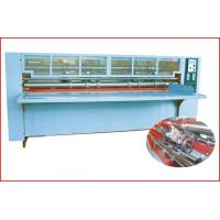 Thin Blade Slitting Creasing Machine, Rotary Slitting + Scoring, with Safety Cover
