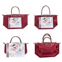 Buy Reusable Foldable Shopping tote Bag Folding Tote Shopping Bags reusable grocery at wholesale prices